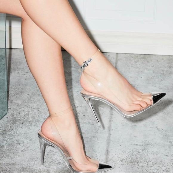Aldo Shoes | Kilanna Clearsilver Heels